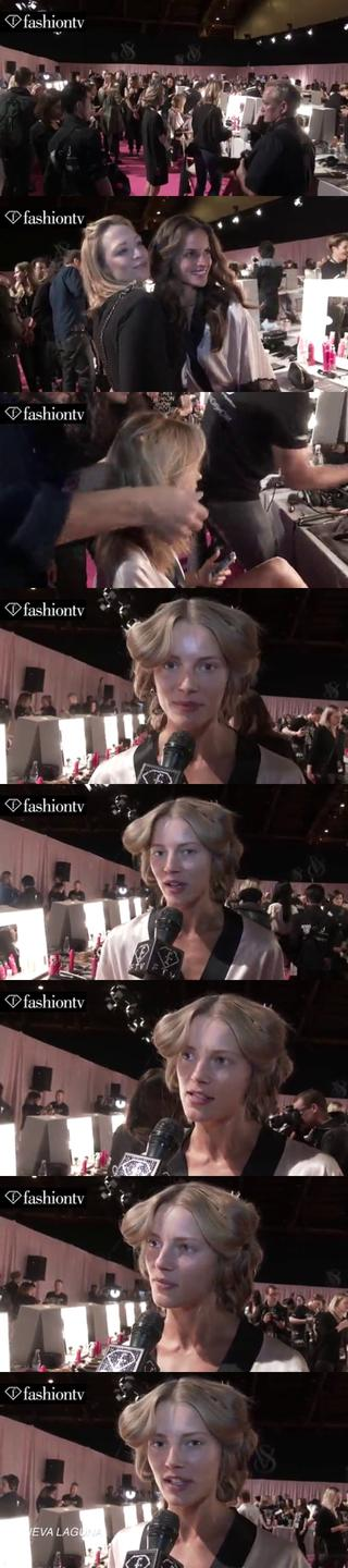 Thumbnail for Victoria's Secret Fashion Show 2014-2015 BACKSTAGE: Ieva Laguna Exclusive Interview | FashionTV