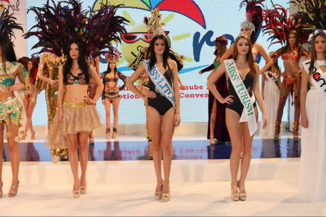 Mamaia opens the Romanian Tourism Fair with an amazing show