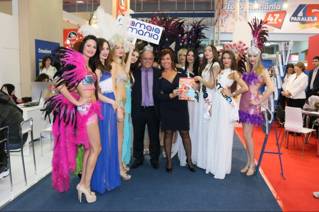 The Mamaia show attracts most of the Romanian Tourism Fair's visitors