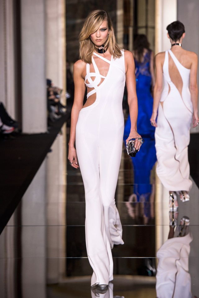 EXCLUSIVE: Scandalously Sexy Pics from the Atelier Versace Show!