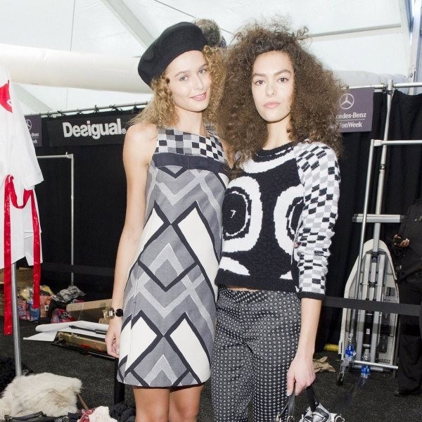 Hair & Makeup Desigual Fall-Winter 2015-16