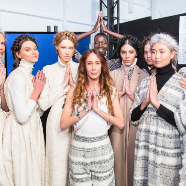 Mara Hoffman Fall/Winter 2015-16 Front Row & Backstage