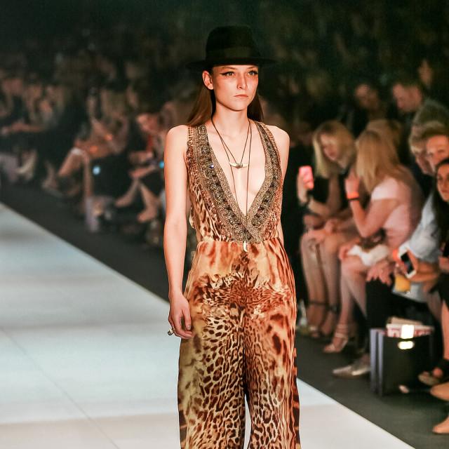 2015 Virgin Australia Melbourne Fashion Festival - Camilla