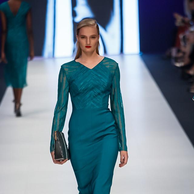 2015 Virgin Australia Melbourne Fashion Festival  Presented by ELLE Australia Supported by Rimmel at Priceline Pharmacy Fashion Label: Ginger/Smart Photographer: Audie de la Pena Editor: Ron Quinones