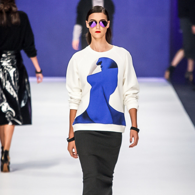 <p>2015 Virgin Australia Melbourne Fashion Festival</p><p>Presented by ELLE Australia<br />Supported by Rimmel at Priceline Pharmacy<br />Fashion Label: Kahlo<br />Shoes b: Nine West<br />Accessories by: Equip/OPSM<br />Photographer: Audie de la Pena<br />Editor: Ron Quinones</p>