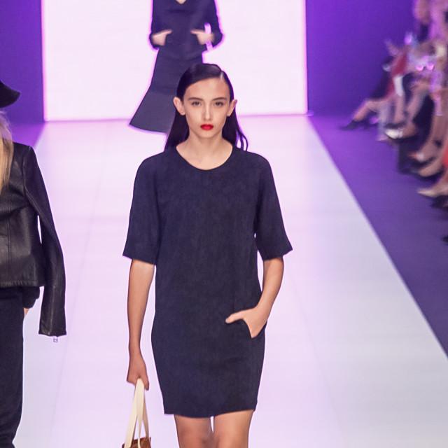 2015 Virgin Australia Melbourne Fashion Festival  Presented by ELLE Australia Supported by Rimmel at Priceline Pharmacy Fashion Label: LifeWithBird Shoes: Florshem Accessories by: Helen Kaminski Photographer: Audie de la Pena Editor: Ron Quinones