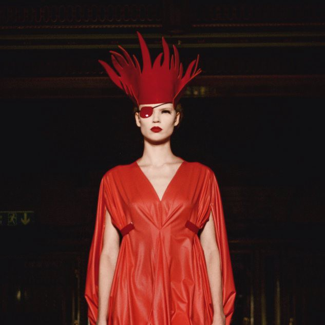 "Pam Hogg  ""From Backstage to Catwalk"""