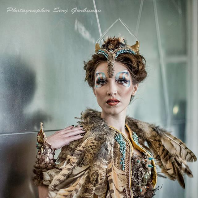 Photography: Serj Gorbunov Make Up Artist: Yuliya Semchenko Fashion Designer: Galia Levi  Model: Anastasia Nikulcha