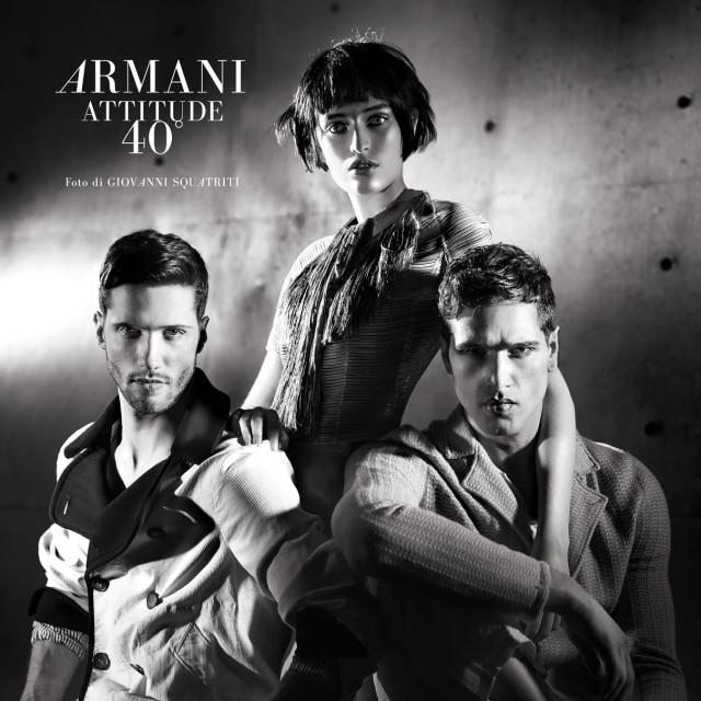 Giorgio Armani 40th anniversary  By Giovanni Squatriti
