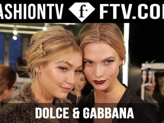 Thumbnail for Dolce & Gabbana Fall/Winter 2015 Backstage ft. Bianca Balti | Milan Fashion Week | FashionTV