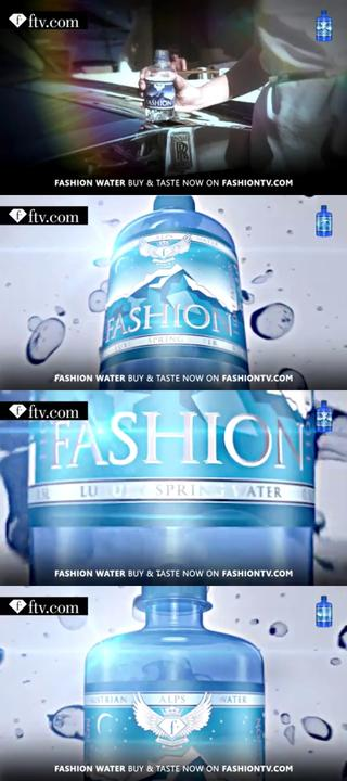 Thumbnail for Fashion Water For Models And Billionairs Promo