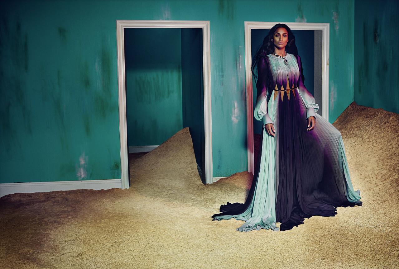 Roberto Cavalli Fall 2015-16 Campaign Starring Ciara