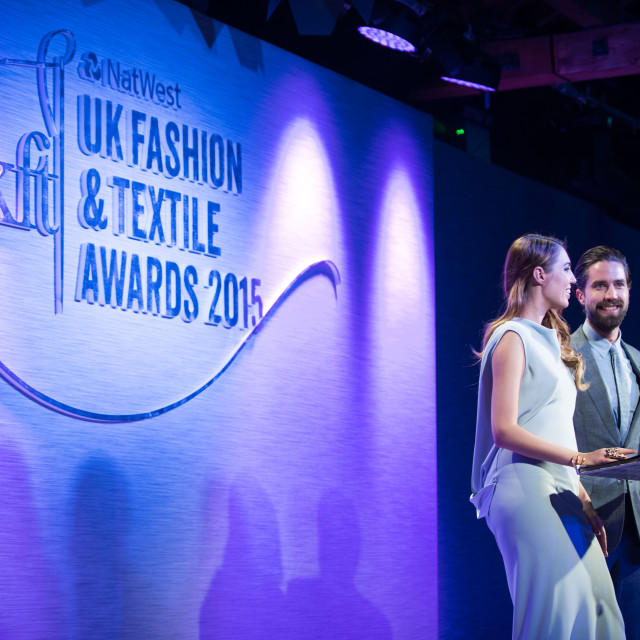 VIPs Celebrate UK Fashion & Textile Awards