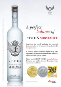 FASHION VODKA Luxury Collection now available at Dubai Duty Free Stores
