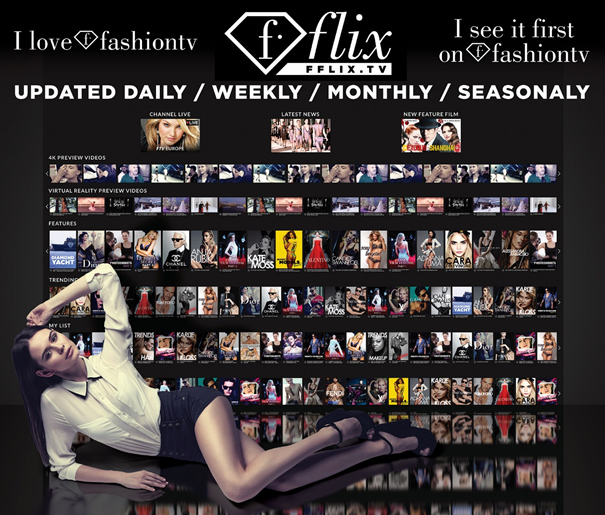 FashionTV Celebrates 20 Years and presents 360°VR, 4K and (f)flix at MIPTV