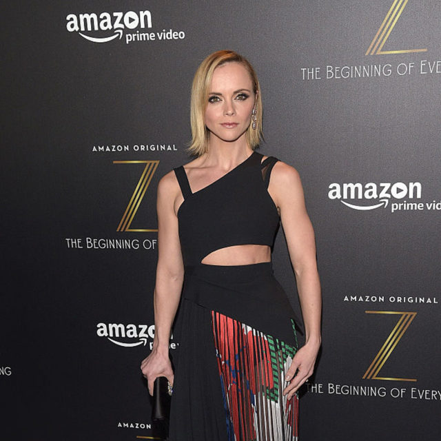 NEW YORK, NY - JANUARY 25: Actress Christina Ricci attends Amazon's New Series