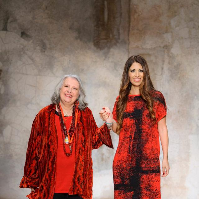 Laura Biagiotti e Lavinia Biagiotti