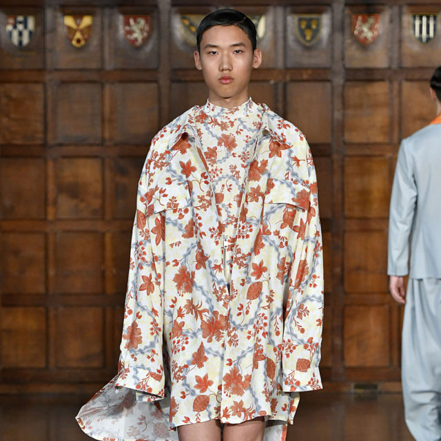 Edward Crutchley London Menswear Spring Summer 2018 London June 2017