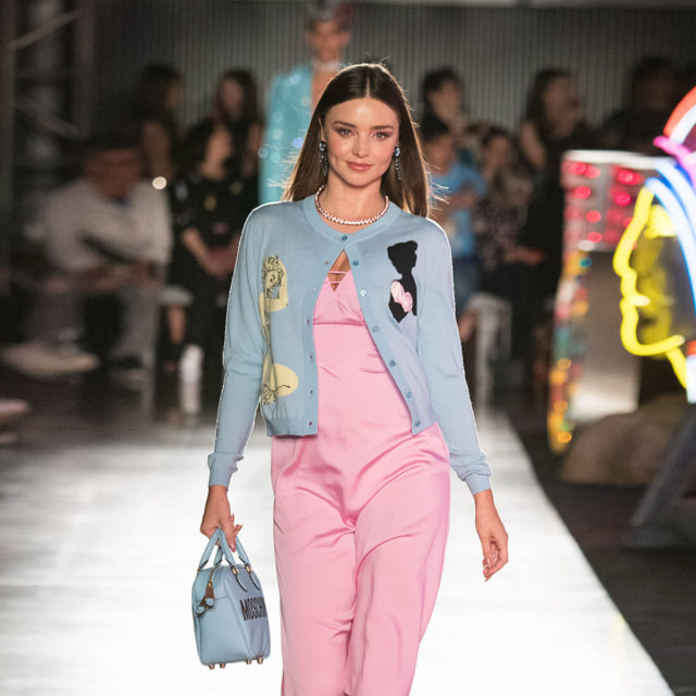 Moschino Spring/Summer 18 Menswear And Women