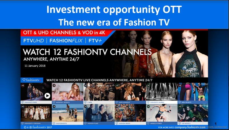 The Future of FashionTV OTT // Click below to download the presentation