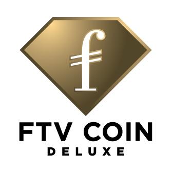 FTV COIN DELUXE Vertical Logo Black